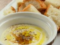 冷たい味噌チーズフォンデュ